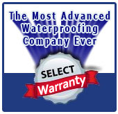 Select Basement Waterproofing Guarantee